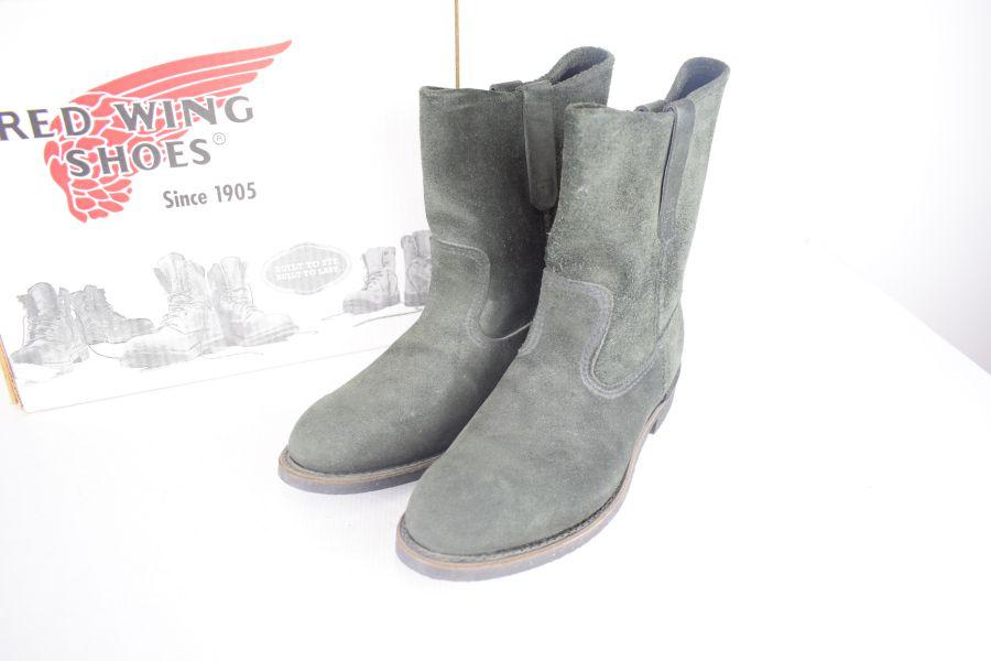 【中古】【メンズ】REDWING×BEAMS レッドウイング×ビームス 8168/ペコスブーツ ブーツ サイズ:8 1/2 (USA) カラー:BLACK 万代Net店