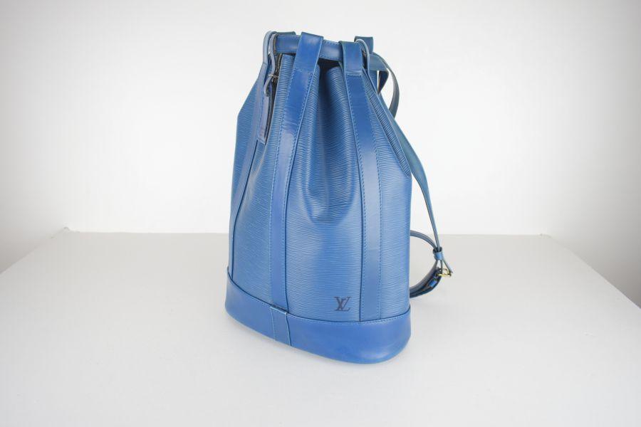 【中古】【メンズ レディース】LOUIS VUITTON ルイ ヴィトン エピランドネ カバン カラー:BLUE 型番:M52355 万代Net店