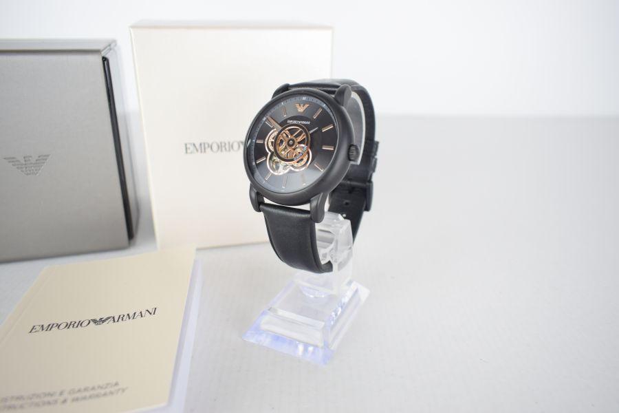 【中古】【メンズ】EMPORIO ARMANI エンポリオアルマーニ AR-60012 腕時計 カラー:BLACK 万代Net店