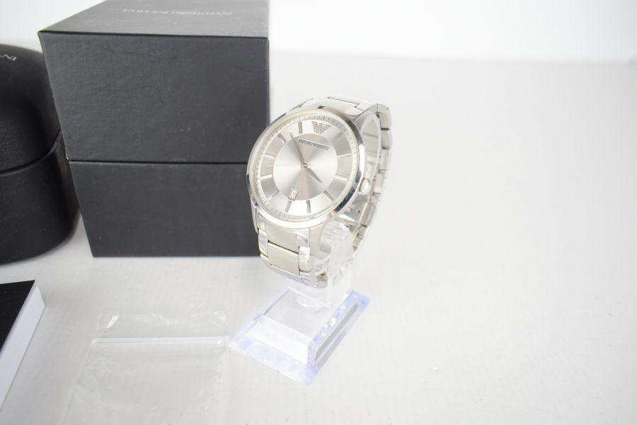 腕時計 エンポリオアルマーニ カラー:SILVER ARMANI 万代Net店 【中古】【メンズ】EMPORIO AR-2478