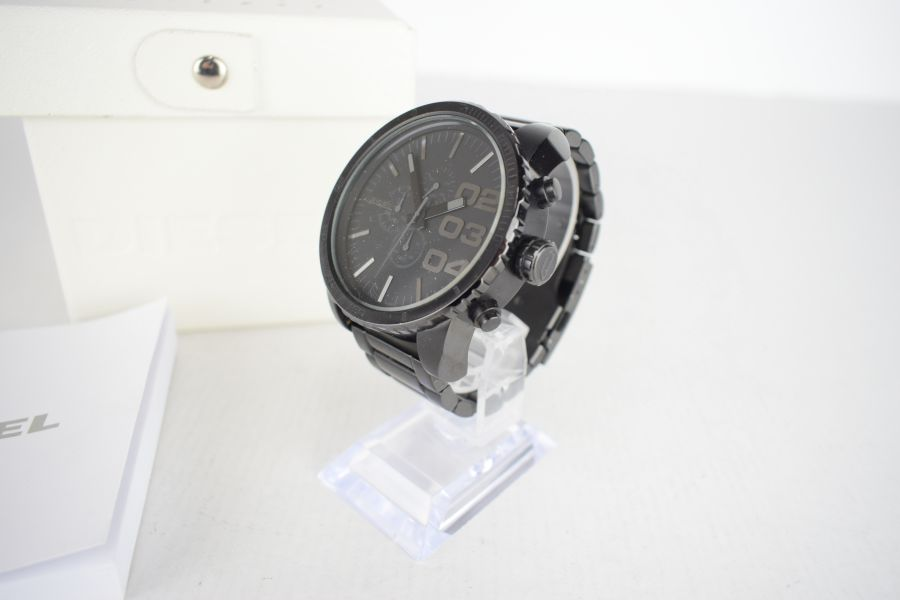 【中古】【メンズ】DIESEL ディーゼル DZ-4207 腕時計 カラー:BLACK 万代Net店