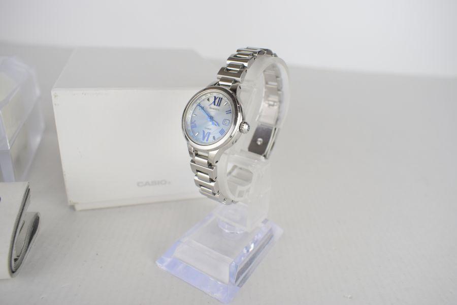 【中古】【レディース】SHEEN シーン SHW-1700D 腕時計 カラー:SILVER 万代Net店