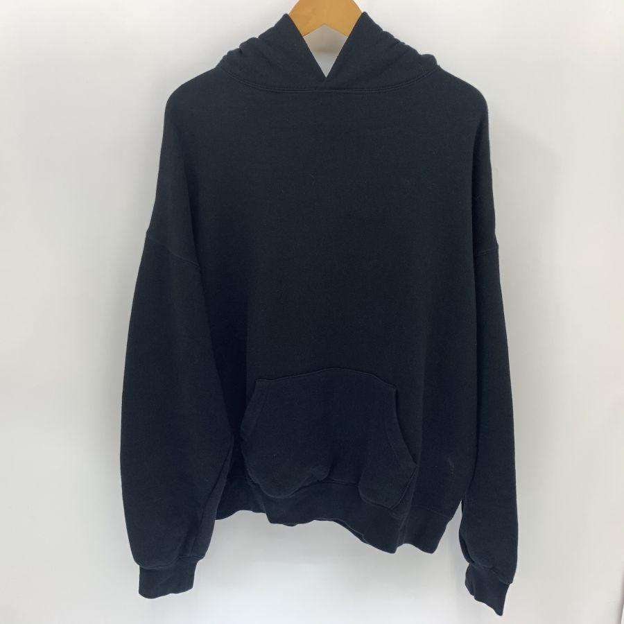 【中古】【メンズ】FOG ESSENTILAS エフオージー エッセンシャルズ LOGO PULLOVER SWEAT SHIRT ロゴ プルオーバー スウェットシャツ パーカー サイズ:S カラー:BLACK 万代Net店