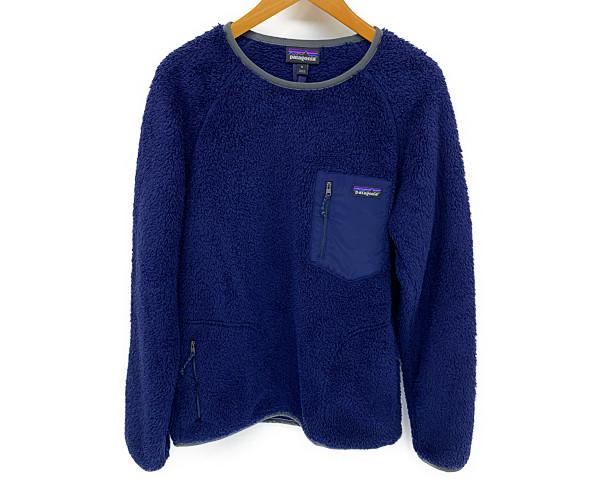 【中古】【メンズ】patagonia パタゴニア 18AW Los Gatons Fleece Crew ジャケット サイズ:M カラー:NAVY 万代Net店