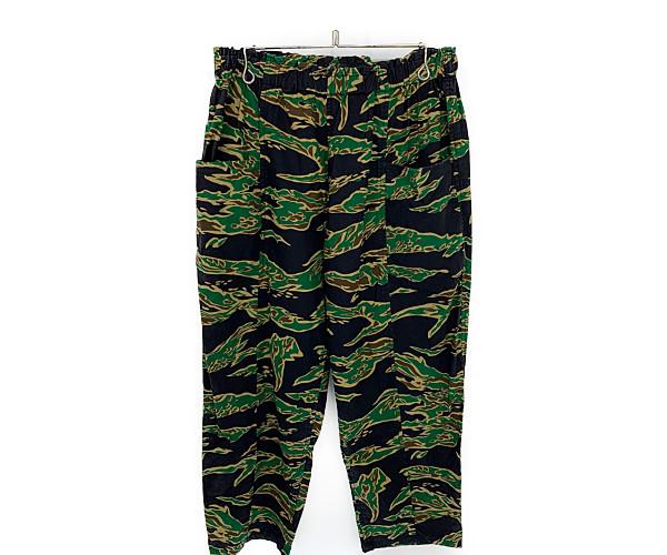 【中古】【メンズ】South2 West8 サウスツー ウエストエイト 2020SS Armystring Pant アーミーストリングパンツ パンツ サイズ:S カラー:CAMOUFLAGE 万代Net店