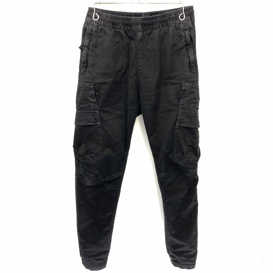 【中古】【メンズ】STONE ISLAND ストーンアイランド 18AW TYPE-RET カーゴパンツ パンツ サイズ:28 カラー:BLACK 万代Net店