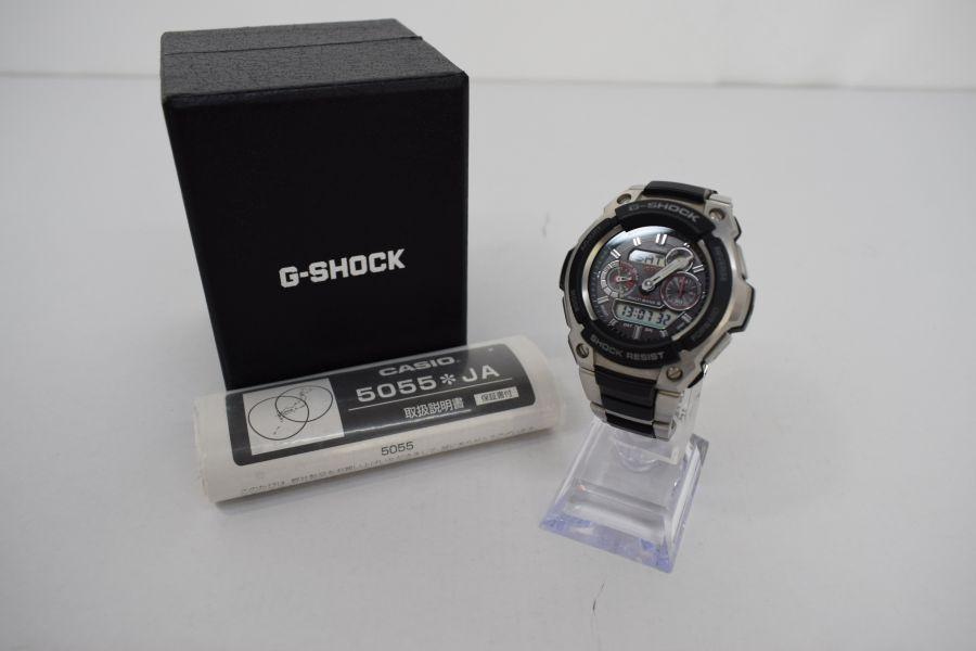 【中古】【メンズ】G-SHOCK ジーショック MTG-1500-1AJF 腕時計 カラー:SILVER 万代Net店