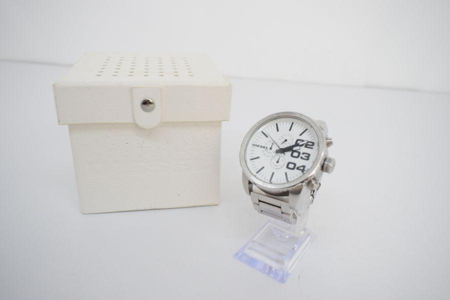 【中古】【メンズ】DIESEL ディーゼル DZ-4219 腕時計 カラー:SILVER 万代Net店