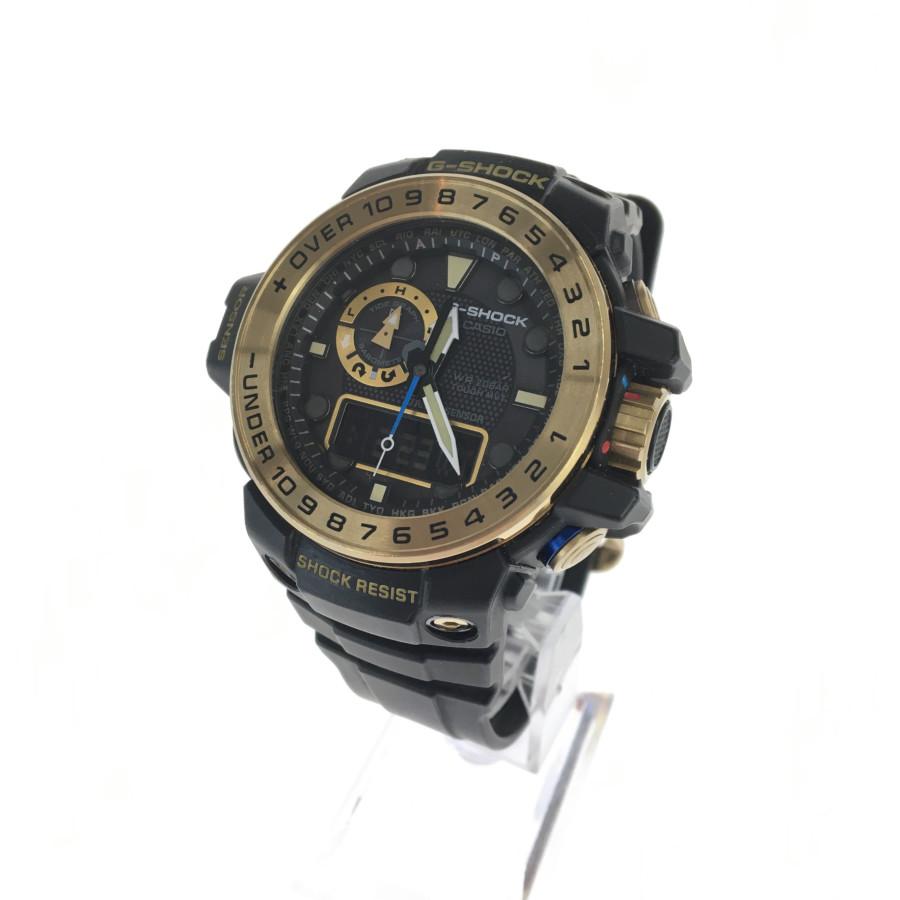 【中古】【メンズ】G-SHOCK ジーショック GWN-1000GB ガルフマスター 時計 カラー:BLACK GOLD 万代Net店