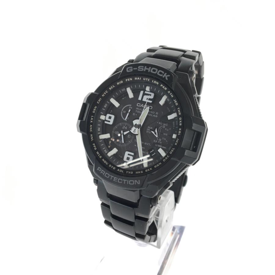 【中古】【メンズ】G-SHOCK ジーショック GW-4000D MULTI BAND 6 スカイコックピット 時計 カラー:BLACK 万代Net店