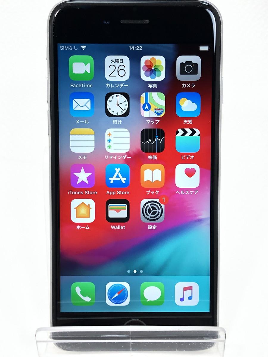 【中古】 SIMフリー iPhone 6s 64GB スペースグレイ MKQN2J/A ネットワーク永久保証 Apple 本体 端末 中古 【万代Net店】