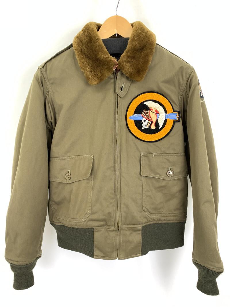 【中古】【メンズ】Buzz Rickson's バズリクソンズ B-10 フライドジャケット ビンテージミリタリーウェア アウター サイズ:38 カラー:カーキ 万代Net店