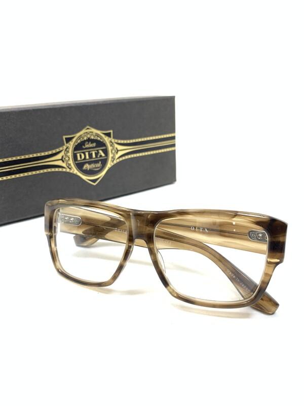 【中古】【メンズ】DITA ディータ Insider インサイダー 眼鏡 メガネ カラー:クリア/ブラック 型番:DRX-2003E-56.5 万代Net店