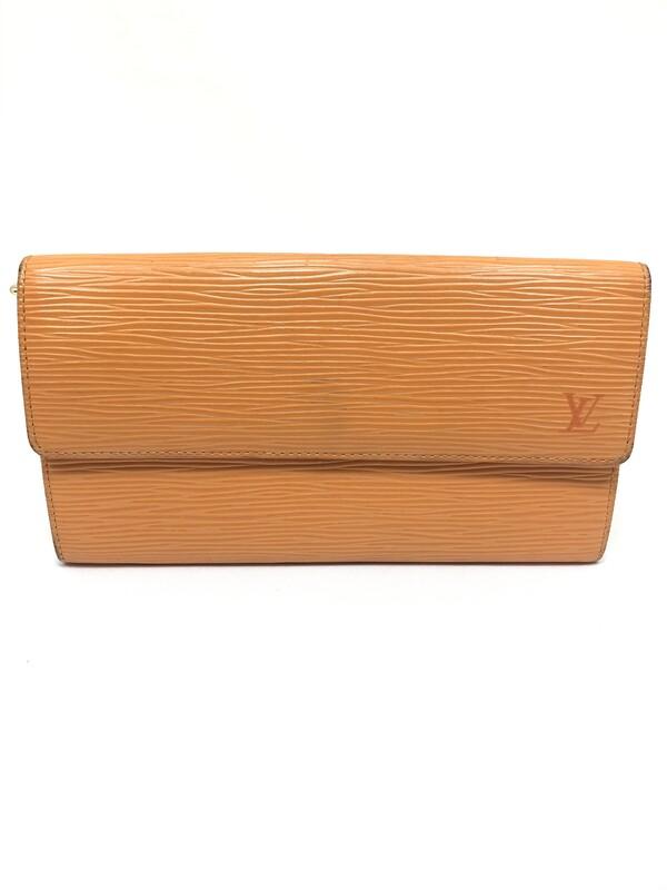 【中古】【メンズ レディース】LOUIS VUITTON ルイ・ヴィトン ボルトフォイユ サラ(旧型) 財布 カラー:マンダリン 型番:M6359H 万代Net店