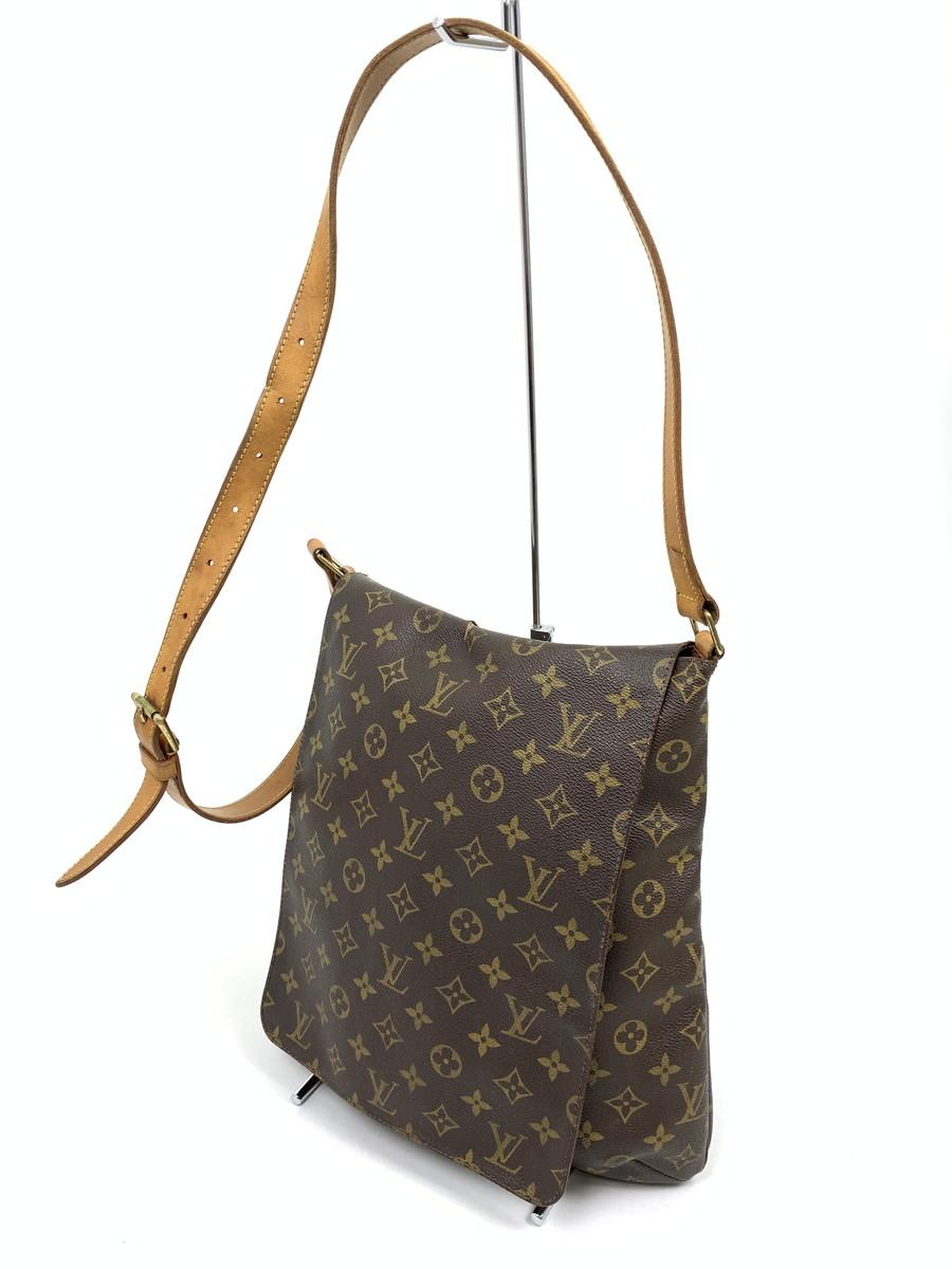 【中古】【レディース】LOUIS VUITTON ルイ ヴィトン ミュゼット ショルダーバッグ カバン 鞄 カラー:モノグラム 型番:M51256 万代Net店