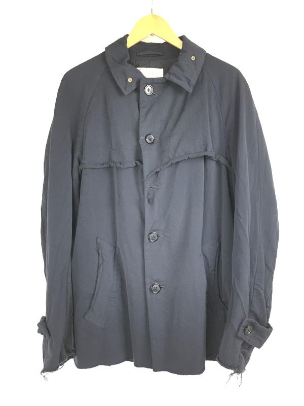 【中古】【メンズ】Kolor カラー 11AW カットオフ コート アウター サイズ:3 カラー:ブラック 万代Net店