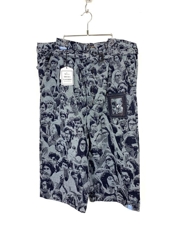 【美中古品】【メンズ】MAISON MIHARAYASUHIRO メゾン ミハラヤスヒロ 20SS Woodstock Denim Pants ウッドストック デニムパンツ ボトム サイズ:46 万代Net店