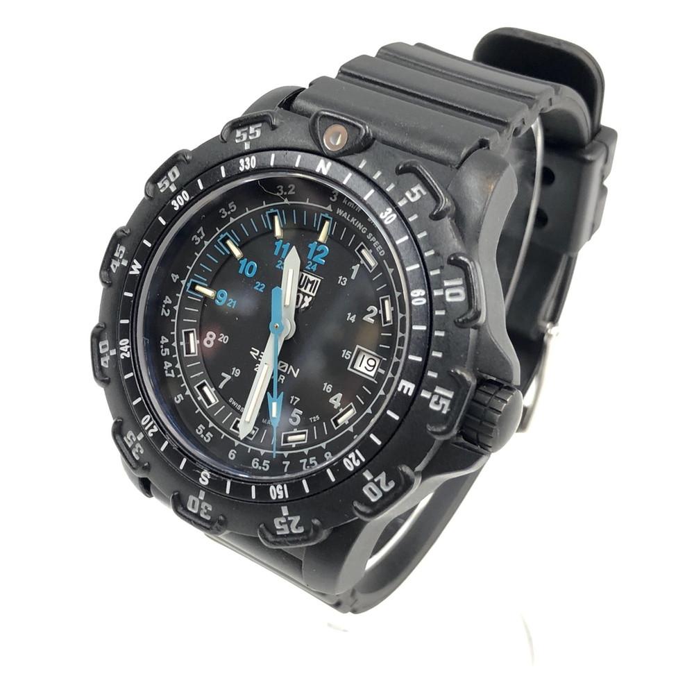 【中古】LUMINOX RECON 8800 SERIES ルミノックス リーコン 8800シリーズ ミリタリー 腕時計 20気圧防水 200M防水 ブラック ブルー 万代Net店