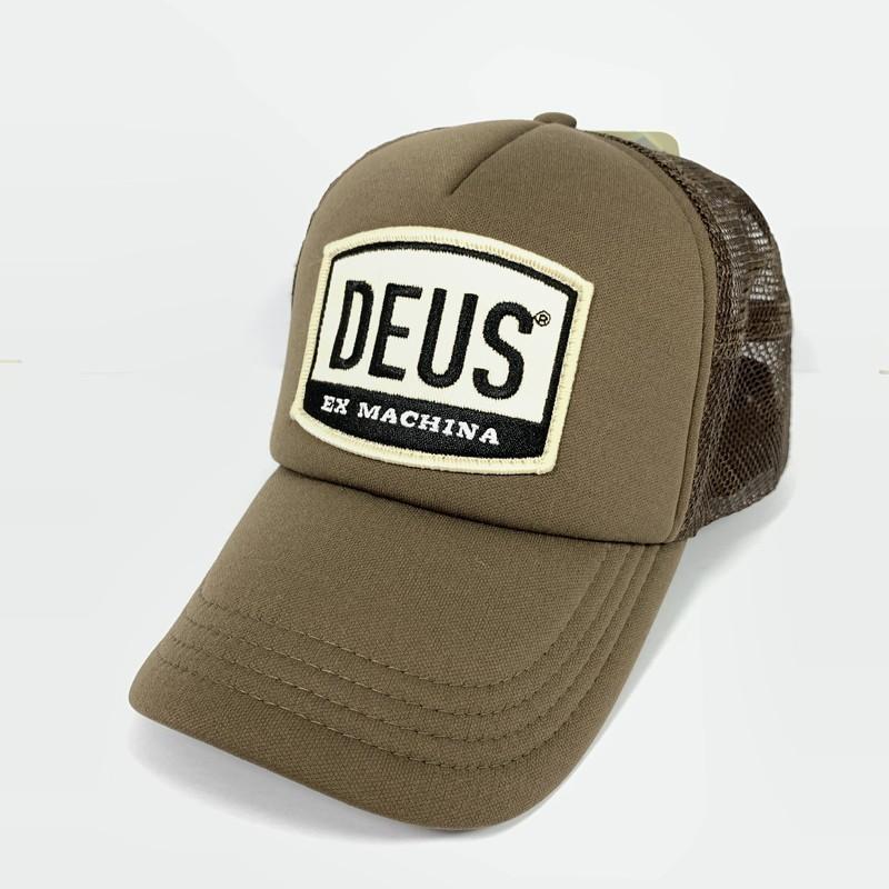 中古 メンズ レディース DEUS デウス 格安店 メッシュキャップ キャップ 茶 万代Net店 帽子 カラー:ブラウン 激安通販専門店