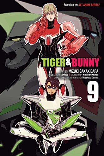【新品】【予約】タイガー&バニー 英語版 (1-9巻) [Tiger & Bunny Volume 1-9]