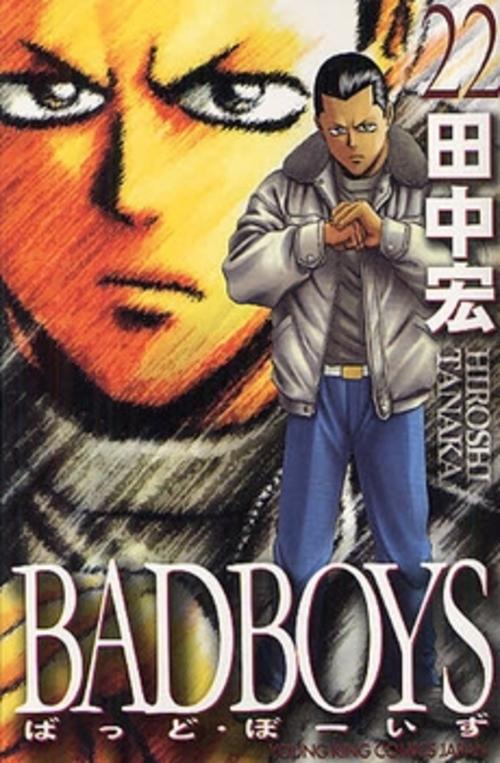 【全巻収納ダンボール本棚付】BAD BOYS (1-22巻 全巻) 全巻セット