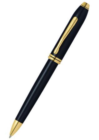 【新品】【文房具】 ボールペン CROSS(クロス) 572TW タウンゼント ブラックラッカー