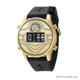 【新品】【グッズ】STAR WARS Roller watch by FUTURE FUNK rubber band model