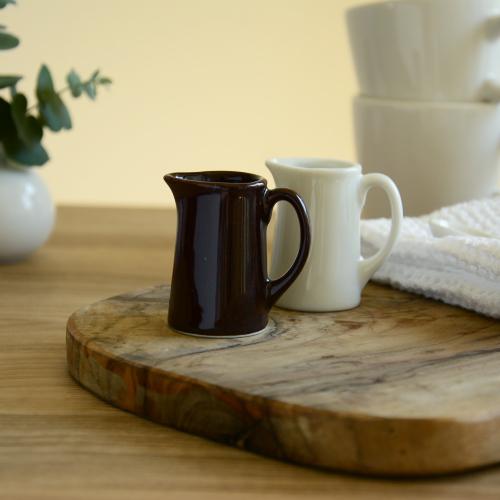 ミルクピッチャー ミルクポット コーヒーミルク入れ フレッシュ入れ ミルクジャグ 陶器 業務用 35%OFF シロップ入れ 日本製 セール特価品 M おしゃれ フレッシュ 陶磁器 ミルク入れ 手つきクリーマー 20cc かわいい