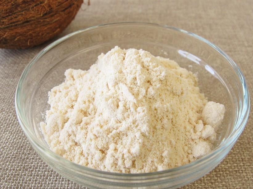 <オーガニック・無添加・無漂白>ココナッツフラワー500gグルテンフリー/低GI値/小麦粉の代用品として/有機JAS(ココナツ粉末)