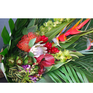 ハワイアン花束 hawaiian bouquet Pililani LL