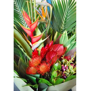 ハワイアン花束 hawaiian bouquet Pililani L
