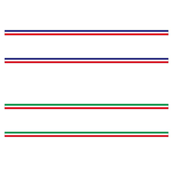 買い取り 汎用 国旗ライン ステッカー フランス イタリア 1メートル 5cm幅 2本セット デカール トリコロール リアドア 壁 ボンネット 屋外対応 早割クーポン トリコローレ インテリア 長期使用 車サイド