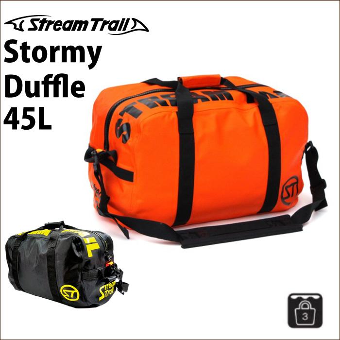 StreamTrail ストリームトレイル 完全防水バッグ STORMY DUFFLE 45L ダッフルバッグ ショルダーバッグ トートバッグ ボストンバッグ 【あす楽対応】