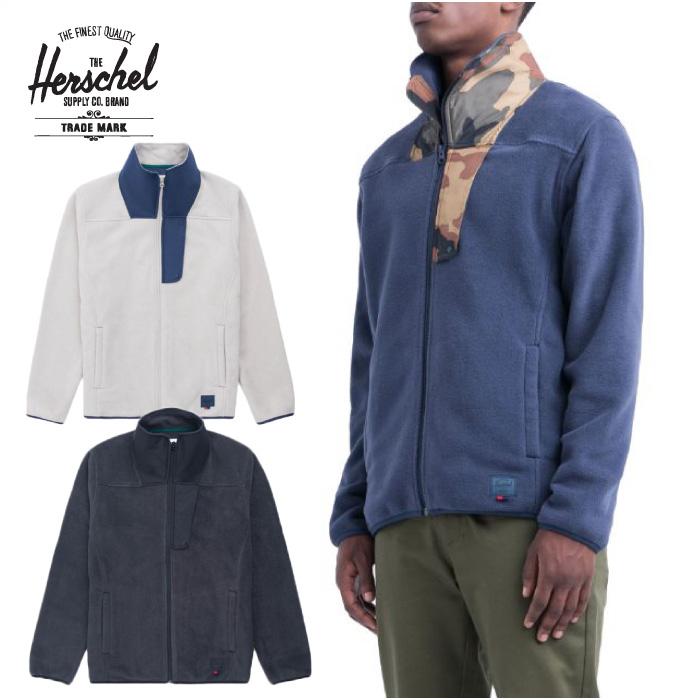 Herschel Supply Co. ハーシェルサプライ トップス 15011 Fleece Zip Up フリース ジップアップ ジャケット アウター ブルゾン 男性用 【あす楽対応】