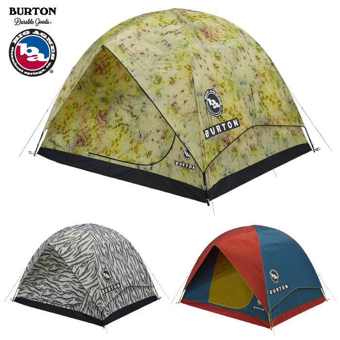 BURTON x Big Agnes バートン x ビッグアグネス 6人用テント 167021 RABBIT EARS 6 TENT キャンプ アウトドア 軽量アルミポール 折りたたみ 折り畳み 【日本正規品】【あす楽対応】