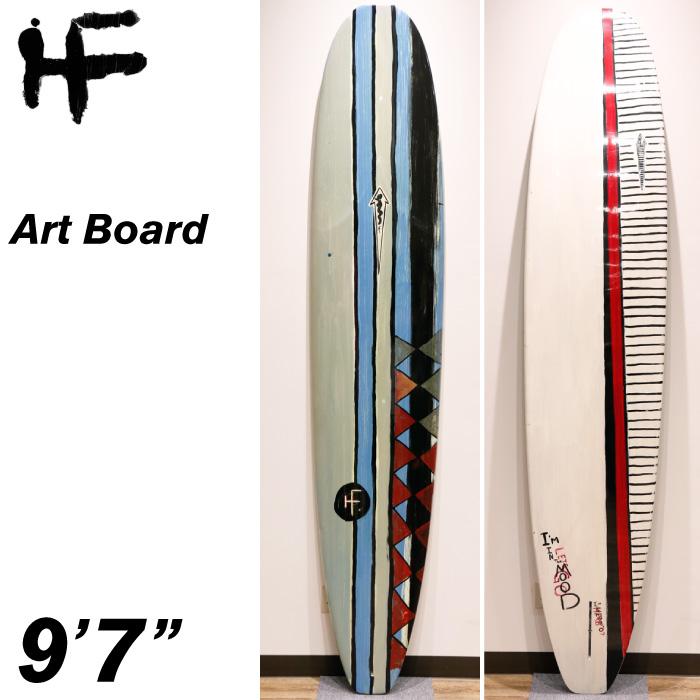 """【店頭受取可】 HERBIE FLETCHER ハービーフレッチャー アートボード 9'7"""" ロングボード シングルフィン サーフボード サーフィン"""
