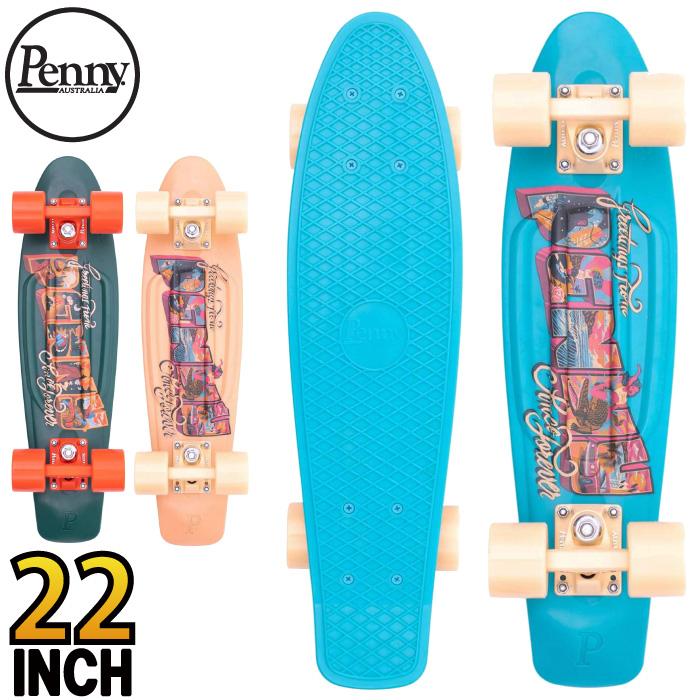 スケボー コンプリート スケートボード Penny Skateboard ペニー GRAPHICS Complete 22インチ POSTCARD SERIES ミニクルーザー グラフィックスシリーズ 【あす楽対応】