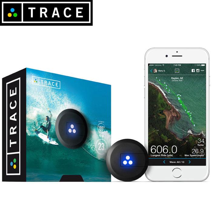 TRACE トレース 小型GPSセンサー ライディング追跡レーダー GoPro連動 動画自動編集可能 サーフィン スノーボード スキー 【日本正規品】【あす楽対応】