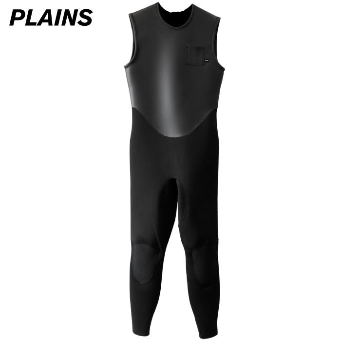 【クーポン配布中】 PLAINS プレーンズ ウエットスーツ メンズ LONG JOHN 2mm ラバーロングジョン バックジップ ウェットスーツ サーフィン 男性用 【あす楽対応】