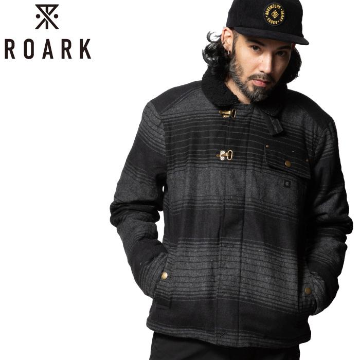 ROARK REVIVAL ロアークリバイバル メンズ ジャケット RJ196 AXEMAN アックスマン 防寒着 防寒服 トップス アウター ブルゾン ワークスタイル 中綿 長袖 上着 男性用 【あす楽対応】