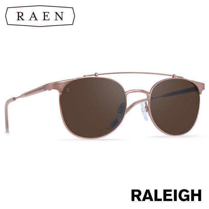 RAEN レーン サングラス RALEIGH Rose / Silver Tri-Flection Flash Mirror ブラウンミラーレンズ 丸型 ラウンド メンズ レディース プレゼント 【日本正規品】【あす楽対応】