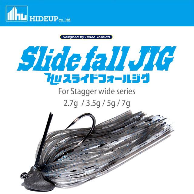 スピード対応 全国送料無料 HIDE UP メーカー公式ショップ 2.7g スライドフォールジグ