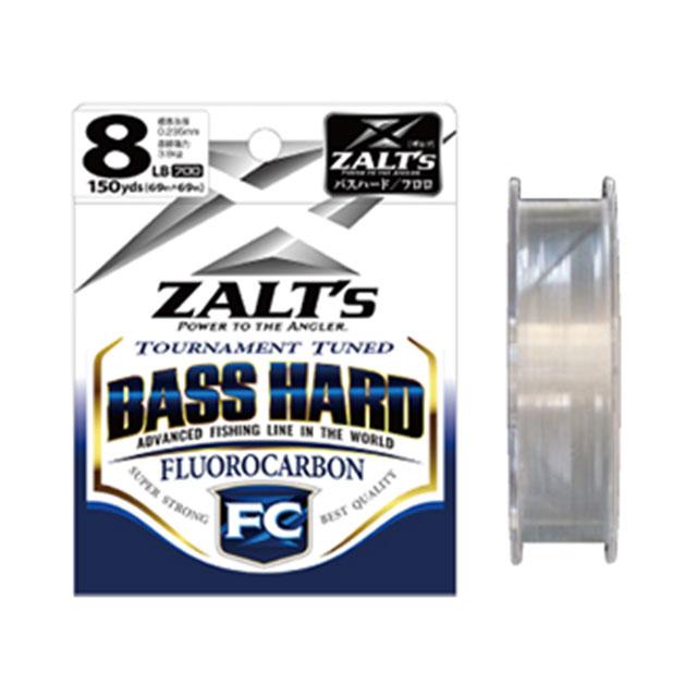 ラインシステム ZALT`s BASS 新作販売 HARD 150yds FC いつでも送料無料 5LB
