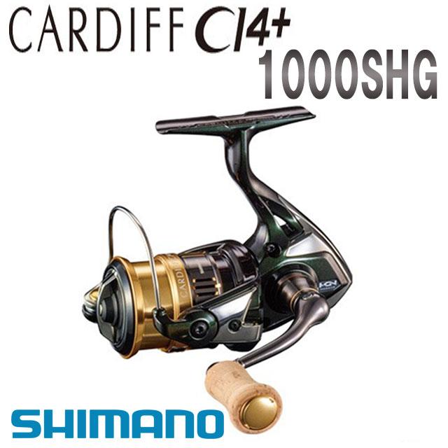 シマノ '18 カーディフ CI4+ 人気の定番 1000SHG 激安卸販売新品
