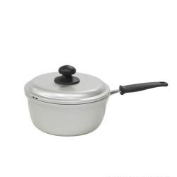 軽くて使いやすい アルミ鍋 結婚祝い 北陸アルミ 水明 アルミ片手鍋16cm 100%品質保証!