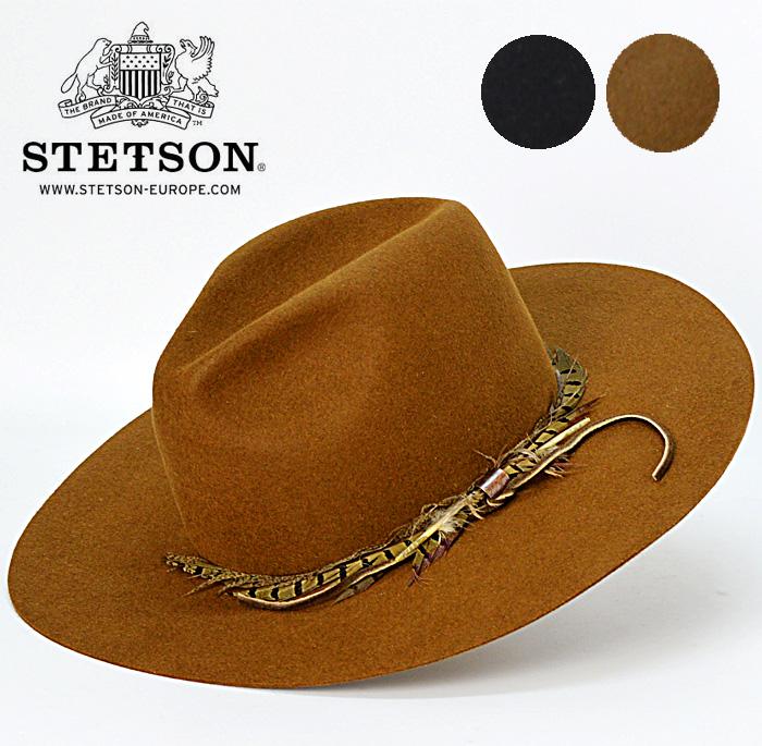 送料無料【STETSON】ステットソン アメリカ 高級 テンガロンハット ウエスタンハット カーボーイハット マニッシュ メンズ 帽子
