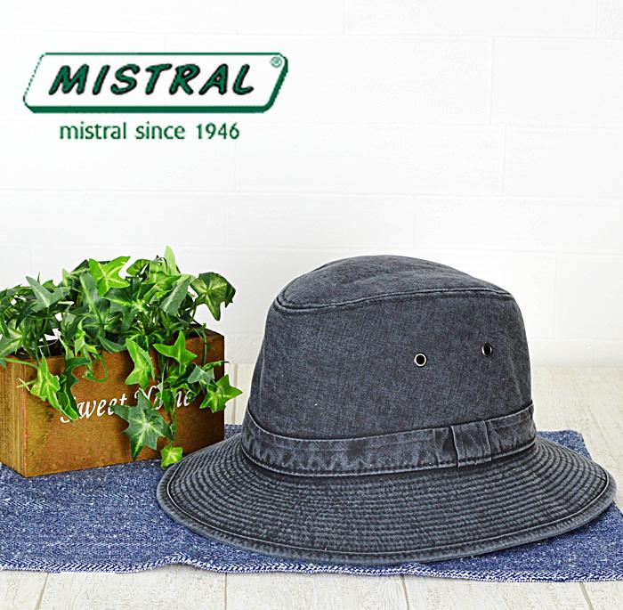 ミストラル 帽子 送料無料【MISTRAL ミストラル】フランス製 綿100% つば広 折り畳み可能 紫外線 UVカット防止加工 メンズ 帽子 ファッション 春 夏 大きいサイズ カメラマンハット