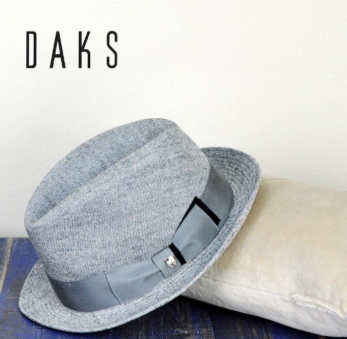 DAKS 帽子 送料無料【DAKS メンズ 帽子】ダックス 中折れハット サイズ調整可 春夏 ニューレスコー メンズ 帽子 ハット 大きいサイズ 50代 60代 ファッション 父の日 敬老の日 通販 紳士帽子 ギフト