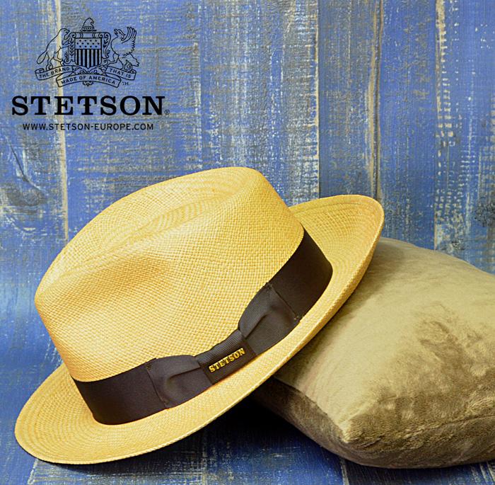 麦わら帽子 メンズ パナマ帽 送料無料【STETSON】ステットソン 麦わら帽子 ストローハット メンズ 帽子 通販 おしゃれ 大きいサイズ 春 夏