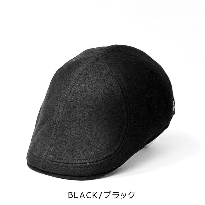 ヴィゲーンズ 帽子 ハンチング 送料無料【Wigens】ヴィゲーンズ ウール100% 6枚接ぎ ハンチング 帽子 メンズ 秋 冬
